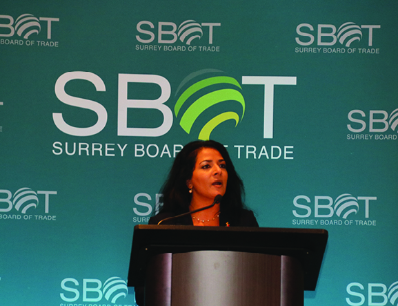 Surrey Board of Trade Applauds First Step in BC's Economic Recovery Plan