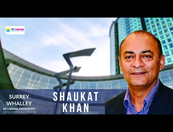 BC Elections Canadidate Profile: Shaukat Khan