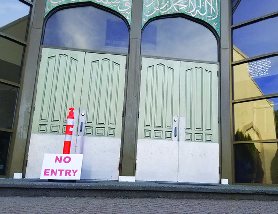 Mosque Closures part of Province-wide restrictions