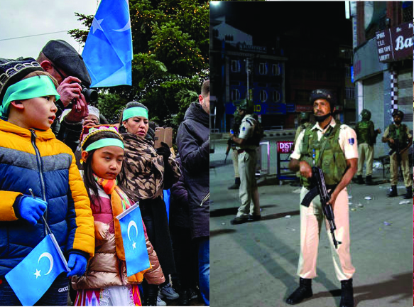 Canadian Parliament's Moral Clarity on Uighurs, but not Kashmir
