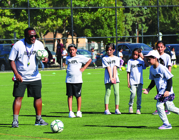 BCMA SPORTS HOSTS YOUTH SOCCER SKILLS CAMP