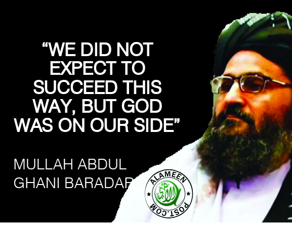 """Taliban declares 'victory', """"God was on our side"""""""