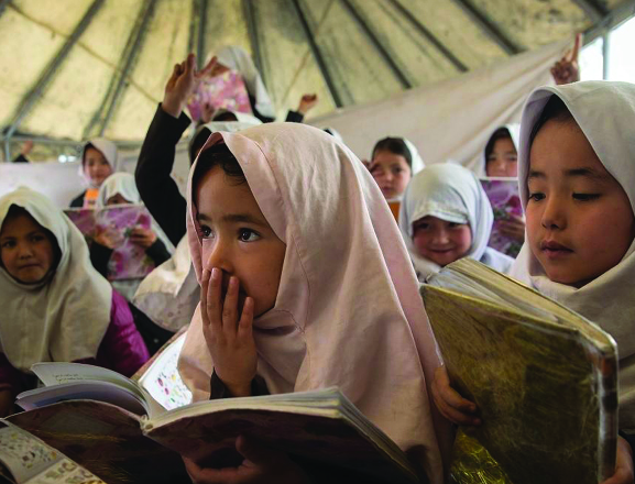 HRW: Prior to the fall of Kabul Girls struggle for education in Afghanistan