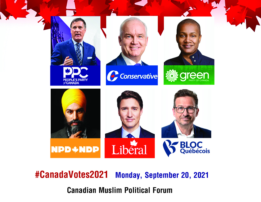 Canadian Federal Election  Monday, September 20