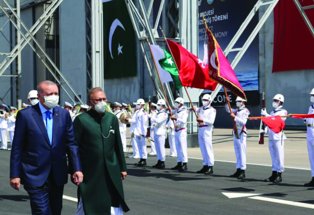 Pakistan has vital role to bring peace, stability to Afghanistan: Turkish president