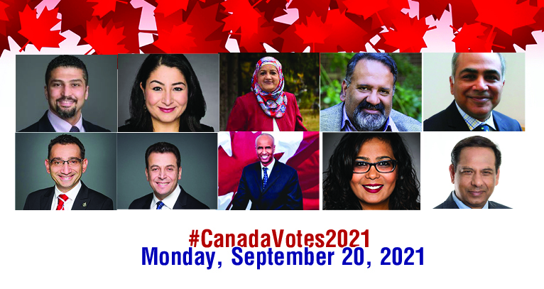 Where does Sixty Seven Muslim Canadians fit in this election