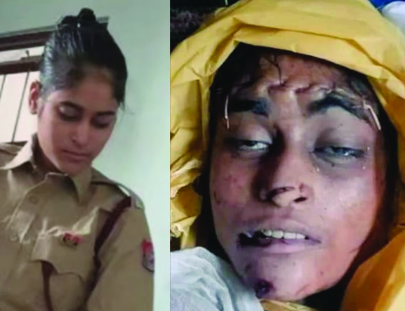 Family of a 21-year-old Delhi Police officer gang raped and mutilated with over 50 stabs Demand #justiceforRabia